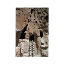 Native American dwelling, New Mex Rectangle Magnet