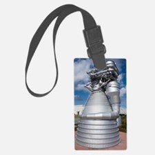 Saturn V rocket's F-1 engine Luggage Tag