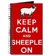 Keep Calm and Sheeple On! Journal