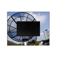 Satellite dishes, Daejeon, South Kor Picture Frame