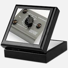 School lab rotary potentiometer Keepsake Box