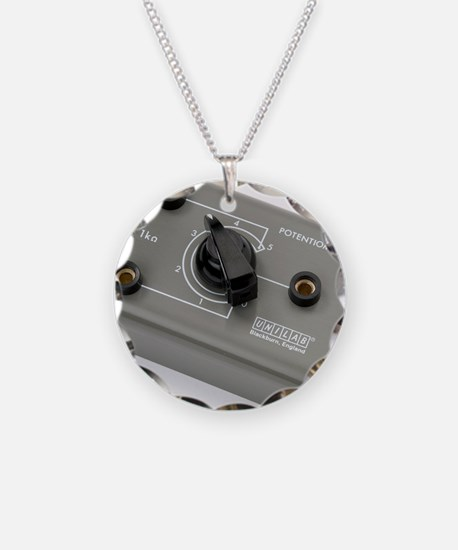 School lab rotary potentiome Necklace