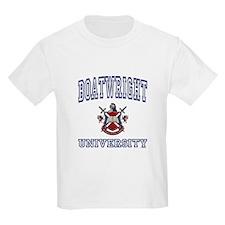 BOATWRIGHT University Kids T-Shirt