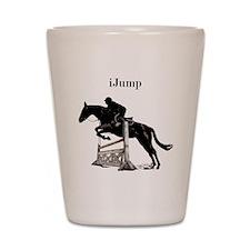 Fun iJump Equestrian Horse Shot Glass