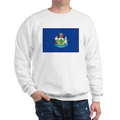 Maine Flag Sweatshirt