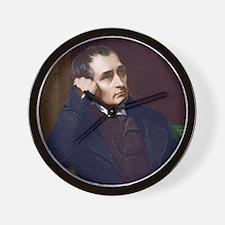 Samuel Crompton, British inventor Wall Clock