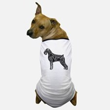 Giant Schnauzer Uncropped Standing Pro Dog T-Shirt