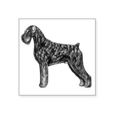 "Giant Schnauzer Uncropped S Square Sticker 3"" x 3"""
