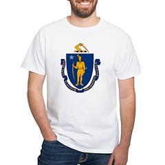 Massachusetts Flag Shirt