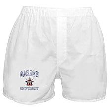 BARDEN University Boxer Shorts