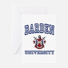 BARDEN University Greeting Cards (Pk of 10)