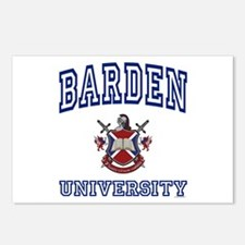 BARDEN University Postcards (Package of 8)
