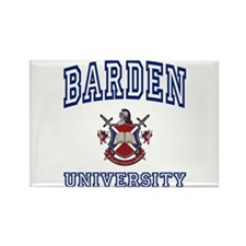BARDEN University Rectangle Magnet