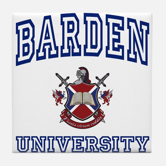BARDEN University Tile Coaster