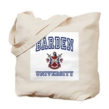 BARDEN University Tote Bag