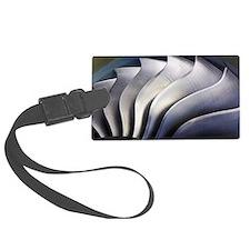 S-curve fan blades Luggage Tag