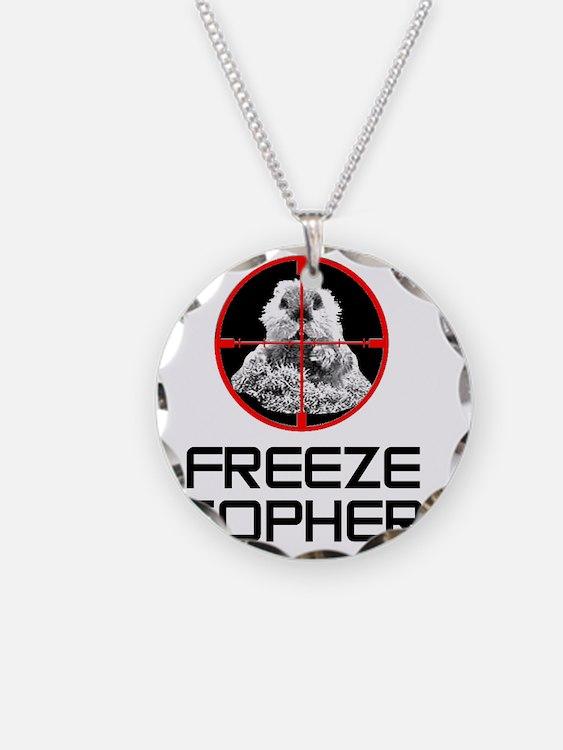 Caddyshack Freeze Gopher Necklace
