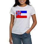 Mississippi Flag Women's T-Shirt