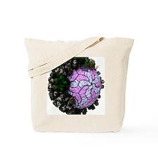 Rotavirus particle, artwork Tote Bag