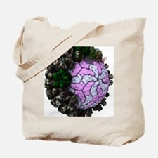 Rotavirus particle, artwork Tote Bag