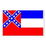 Mississippi Flag Rectangle Sticker
