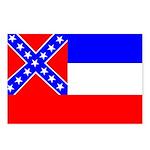Mississippi Flag Postcards (Package of 8