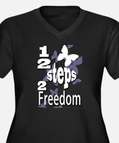 12 Steps to Freedom Plus Size T-Shirt