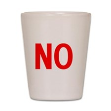 Say No to Bath Salts Shot Glass