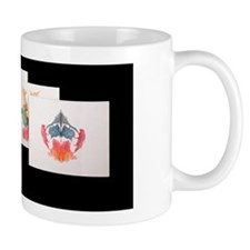 Rorshach Inkblot Test Mug