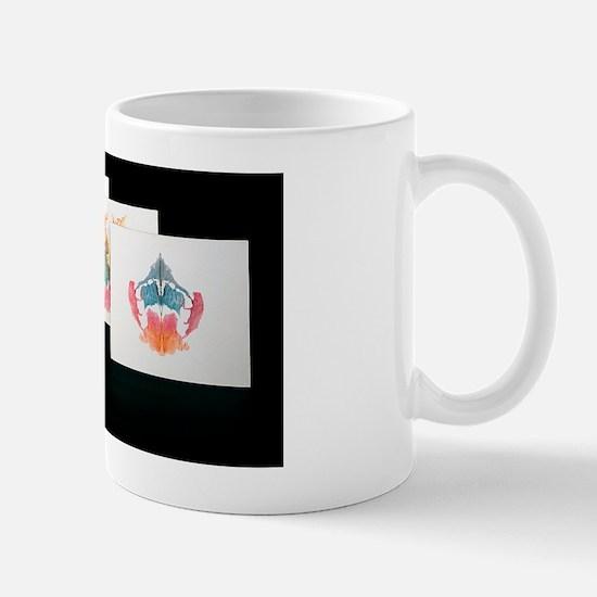 Rorshach Inkblot Test Mug