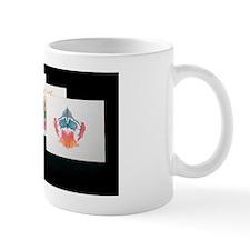 Rorshach Inkblot Test Small Mug