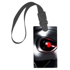 Robotic eye, artwork Luggage Tag