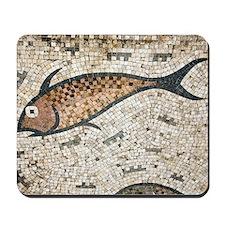 Roman mosaic Mousepad