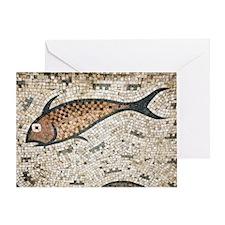 Roman mosaic Greeting Card