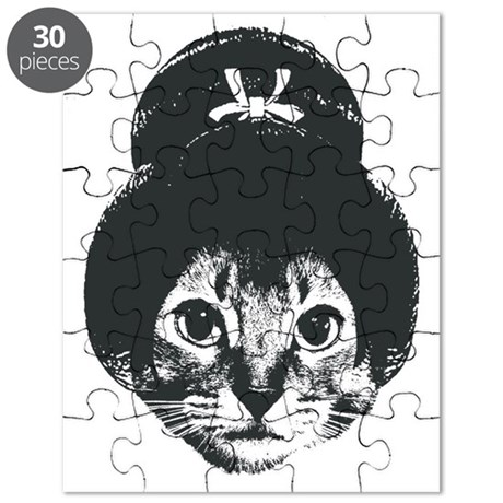 Geisha Cat Puzzle