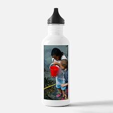 Rock pool fishing Water Bottle