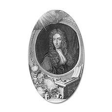 Robert Boyle, Irish chemist 35x21 Oval Wall Decal