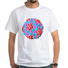 Rhinovirus particle, artwork Shirt