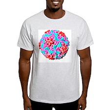 Rhinovirus particle, artwork T-Shirt