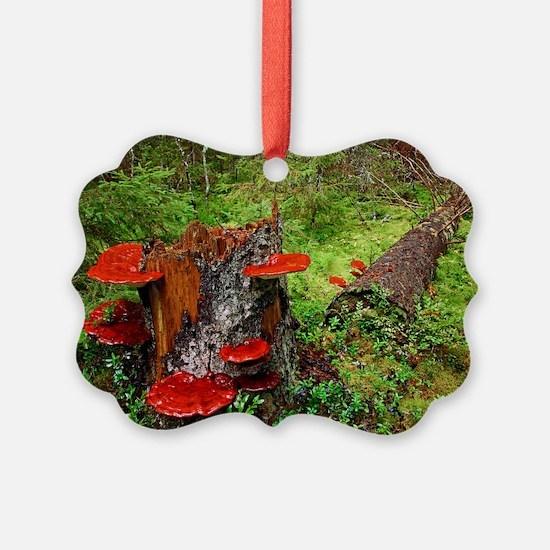 Reishi fungus Ornament