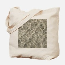 Ripples in shallow water Tote Bag