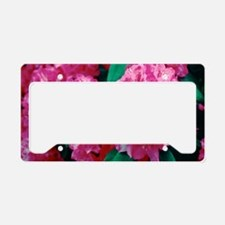 Rhododendron 'Cynthia' License Plate Holder