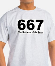 667 Neighbor of the Beast T-Shirt