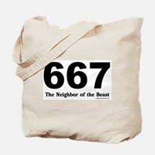 667 Neighbor of the Beast Tote Bag