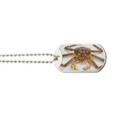 Red king crab Dog Tags