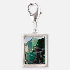 Refuse collection Silver Portrait Charm
