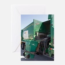 Refuse collection Greeting Card