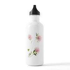 Red clover (Trifolium  Water Bottle