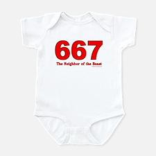 667 Neighbor of the Beast Infant Bodysuit