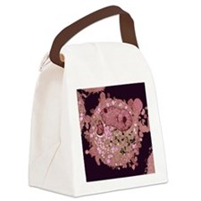 Carcinoma cell, colored transmiss Canvas Lunch Bag